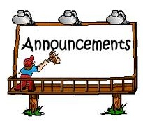 Announcements Clip Art