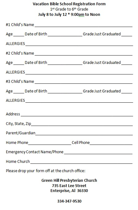 Amazing School Registration Form Sample Gallery Guide to the – Registration Form Template Word