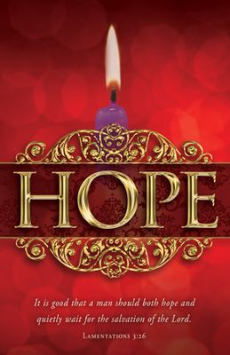 Today We Light the Candle of Hope Green Hill