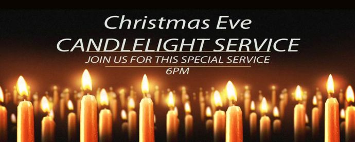 christmas eve candlelight service 600pm